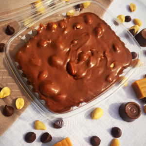 Snickers Home Made Fudge